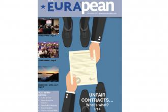 The EuRApean - Nov 17 Cover